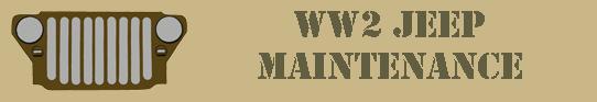 WW2 Jeep Maintenance